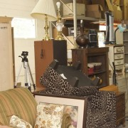 household items in furniture thrift stores
