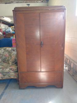 Antique 2 Door Wardrobe Armoire Closet