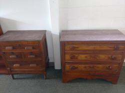 Antique Granite Top Dressers