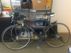 Trek 5500 Carbon OCLV Bicycle with Extra Wheel