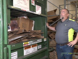 How Gone for Good Recycles Cardboard